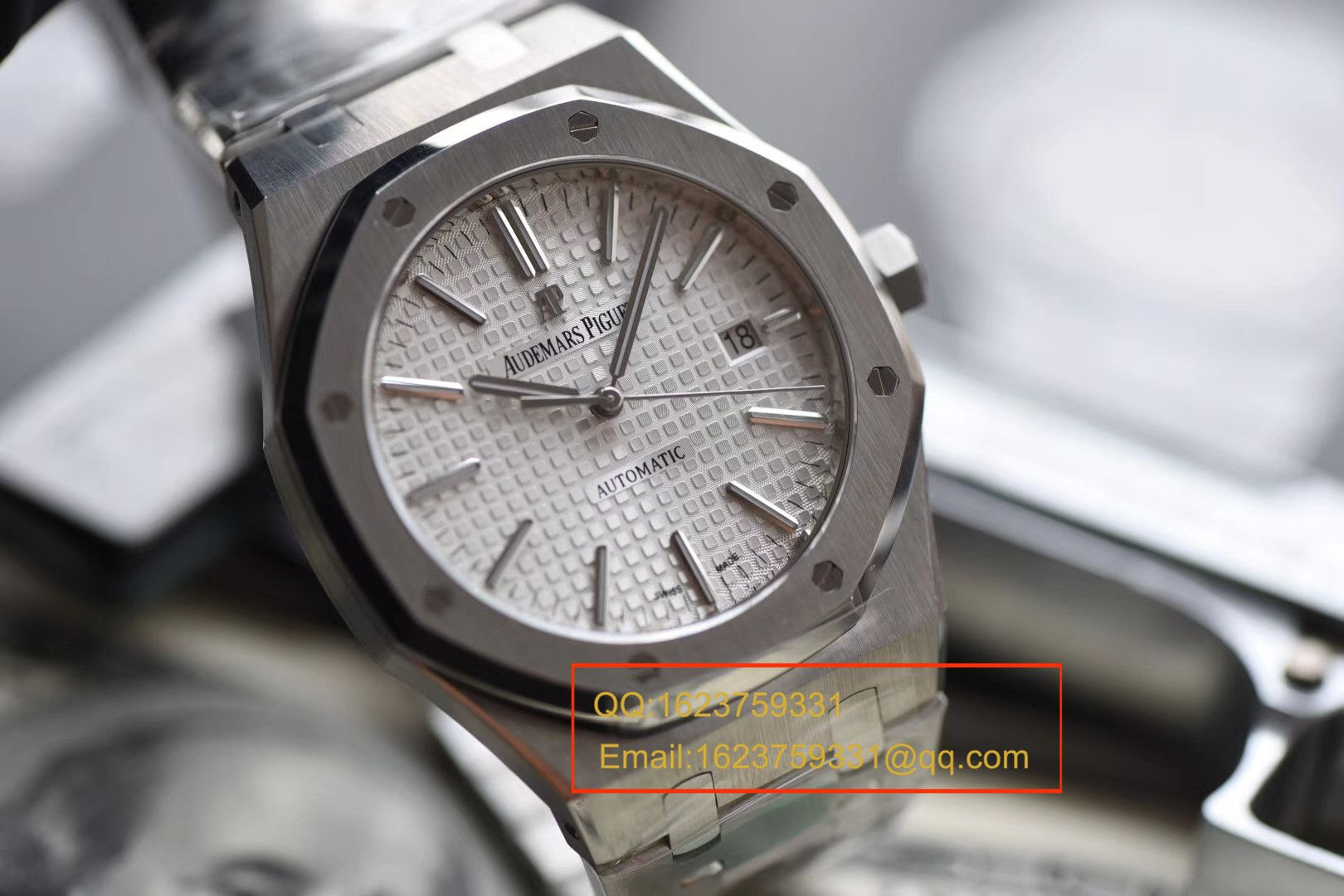 【视频解说】JF厂一比一精仿手表之爱彼皇家橡树系列15400ST.OO.1220ST.02男表