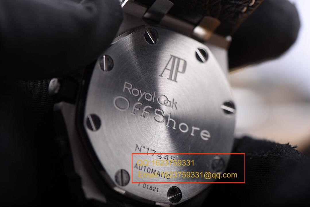 【JF厂1:1超A精仿手表】爱彼皇家橡树离岸型系列26170ST.OO.D101CR.02小熊猫男表