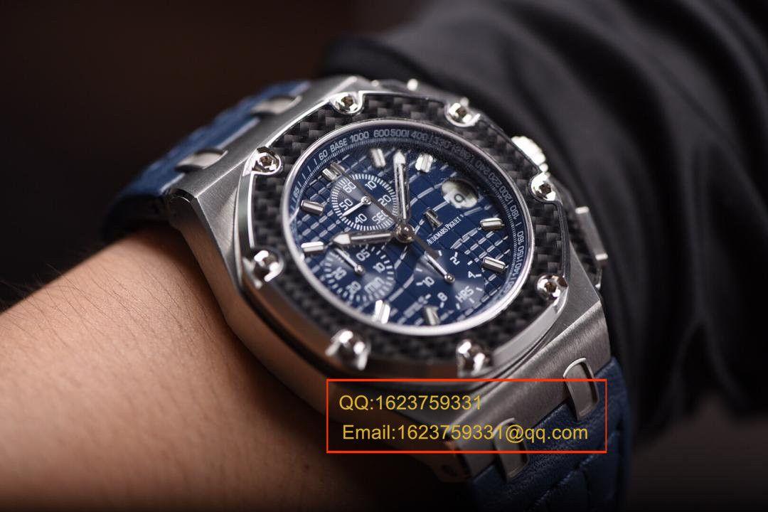 【JF一比一超A高仿手表】爱彼千禧系列蒙托亚26030PO.OO.D001IN.01机械腕表