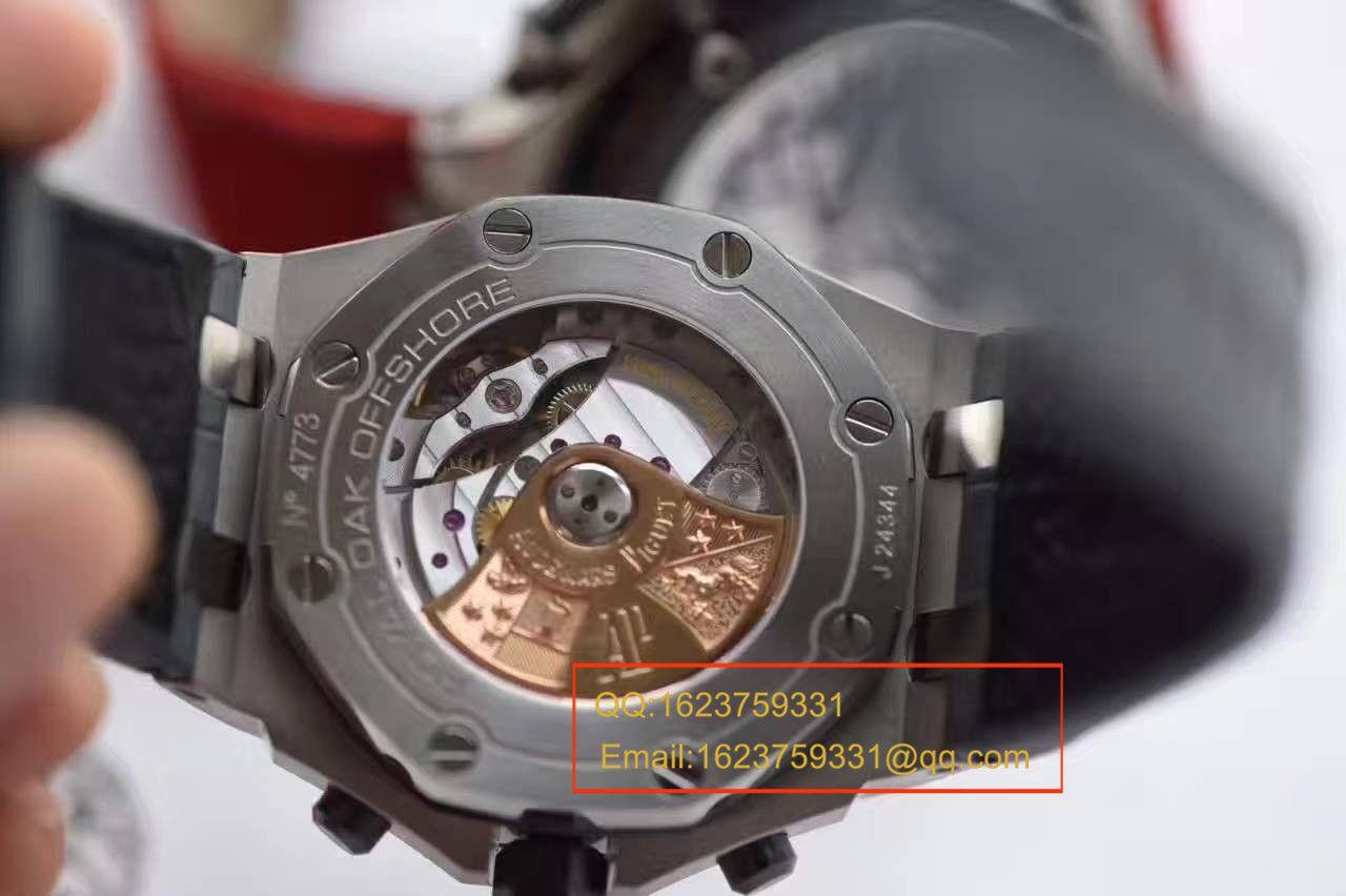 【视频评测JF厂1:1精仿手表】爱彼AP 皇家橡树离岸型系列26470ST.OO.A104CR.01腕表