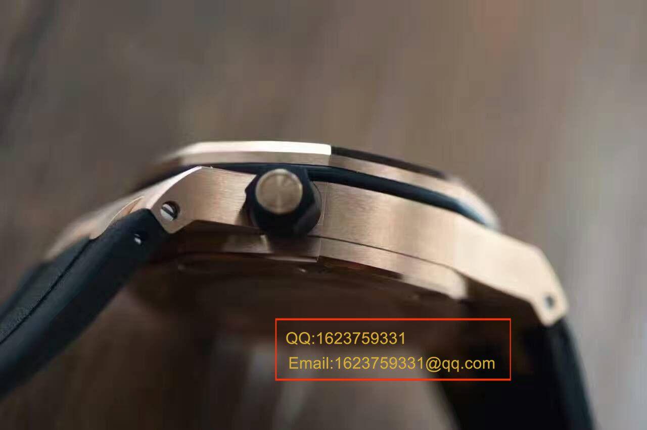 【视频评测JF厂一比一高仿手表】爱彼皇家橡树离岸型系列15709TR.OO.A005CR.01男表 / AP077A