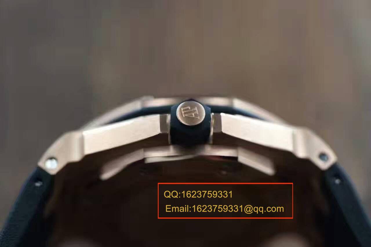 【视频评测JF厂一比一高仿手表】爱彼皇家橡树离岸型系列15709TR.OO.A005CR.01男表