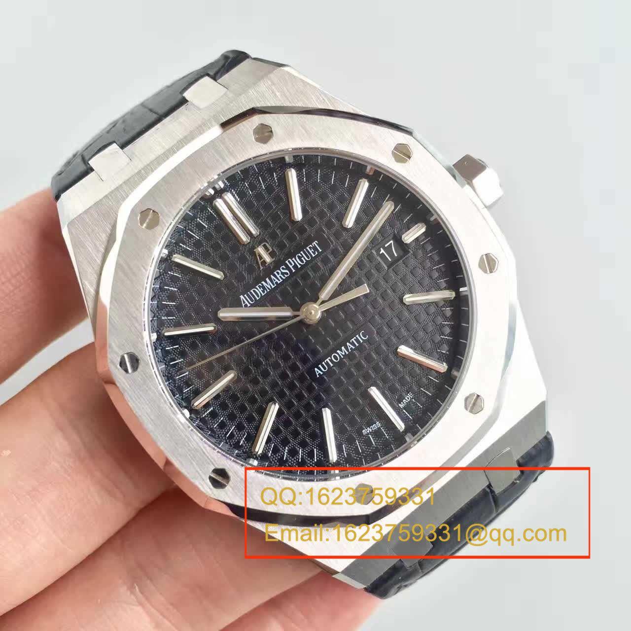 【JF厂一比一超A高仿手表】爱彼皇家橡树系列15400ST.OO.1220ST.01腕表