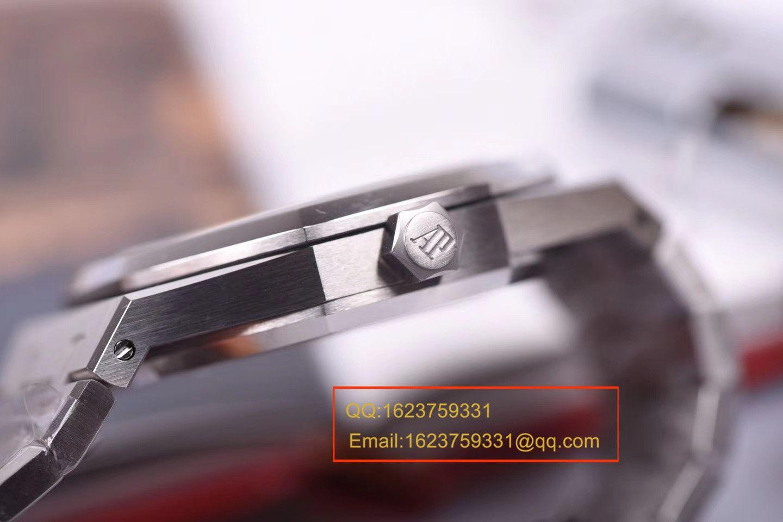 【JF厂顶级复刻手表】爱彼皇家橡树系列15400ST.OO.1220ST.04腕表 / AP129