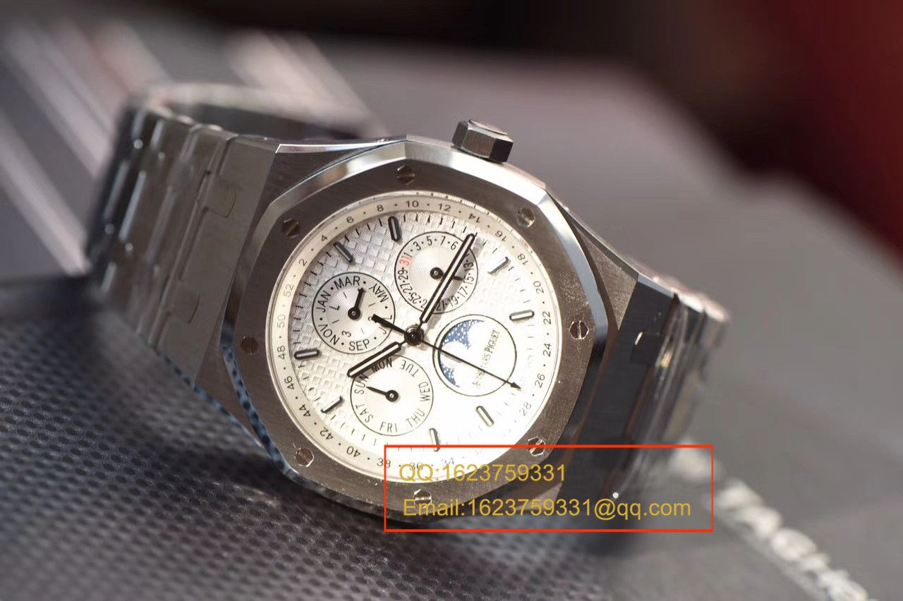 【JF厂一比一超A精仿手表】爱彼皇家橡树系列26574ST.OO.1220ST.01月相腕表