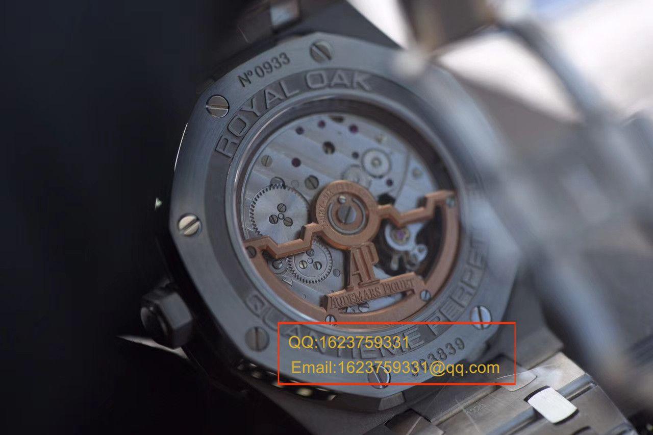 【JF厂顶级复刻手表】爱彼皇家橡树万年历系列26574ST.OO.1220ST.02腕表 / AP124