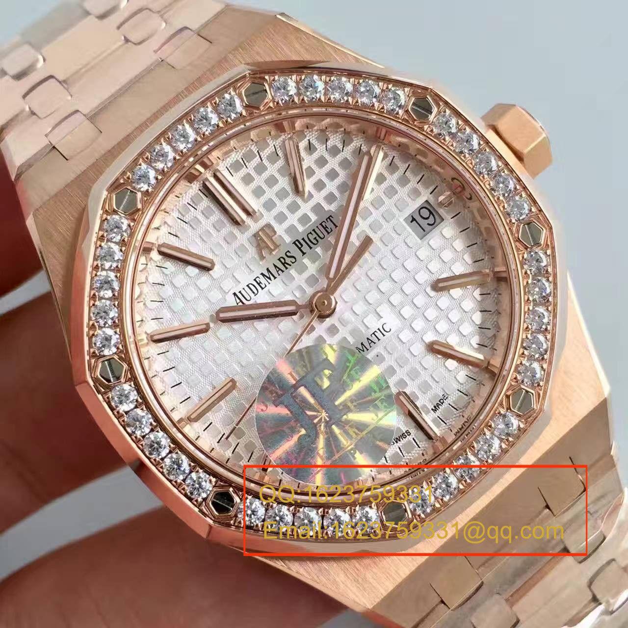 【JF厂1:1顶级复刻手表】爱彼皇家橡树系列15451OR.ZZ.1256OR.01男女中性腕表
