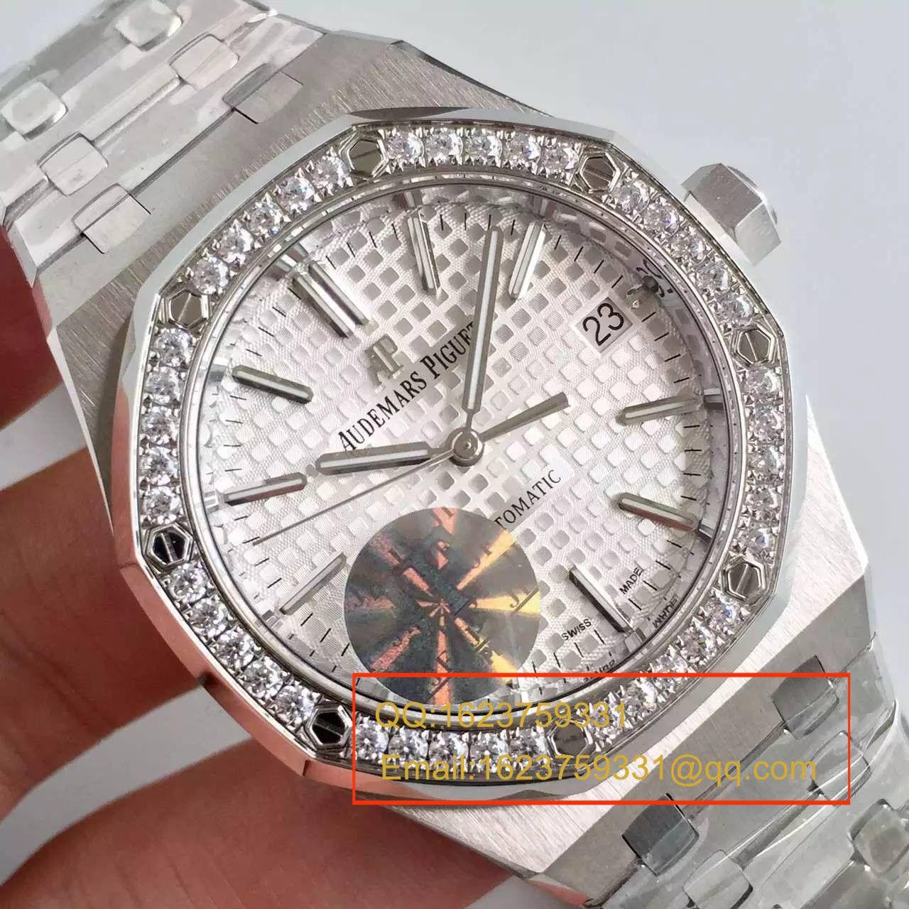 【JF厂一比一超A精仿手表】爱彼皇家橡树系列15451ST.ZZ.D011CR.01男女中性腕表
