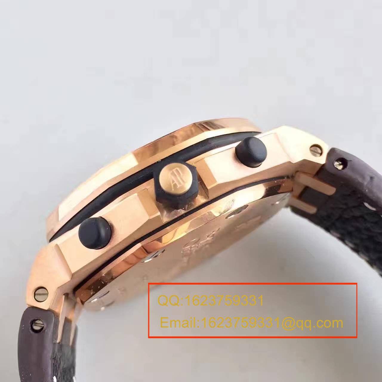 【JF厂1:1精仿手表】爱彼皇家橡树离岸型Royal Oak Offshore系列26170OR.OO.1000OR.01机械腕表 / AP051