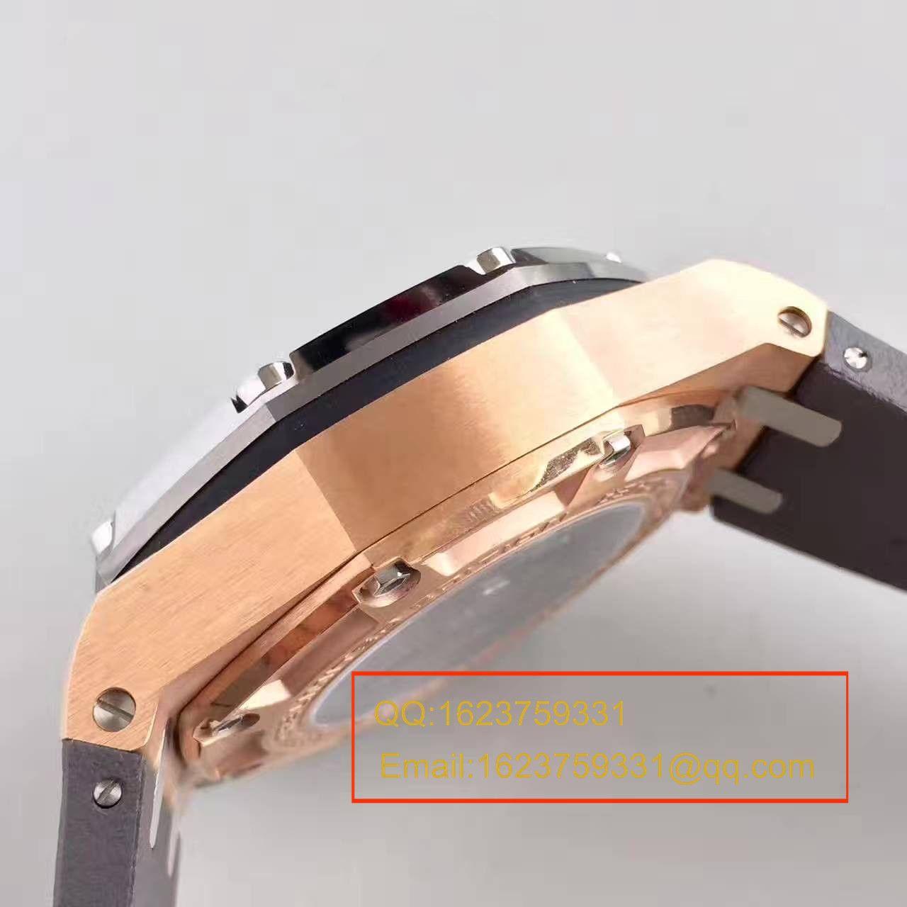 【JF厂超A高仿手表】爱彼皇家橡树离岸型系列舒马赫26568OM.OO.A004CA.01机械腕表