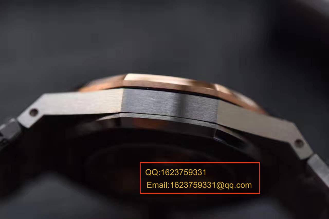 JF厂爱彼皇家橡树系列15400SR.OO.1220SR.01腕表《精钢间金表带》男女腕表 / AP016