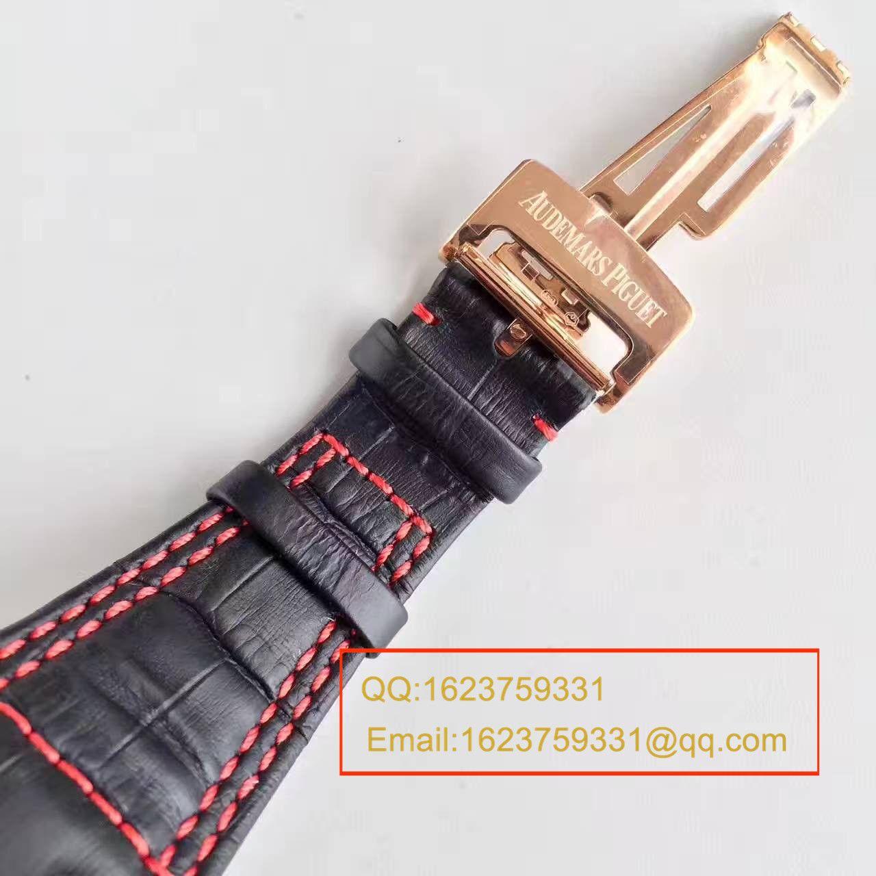 【JF厂顶级复刻】爱彼千禧系列26284RO.OO.D002CR.01 BR2机械腕表