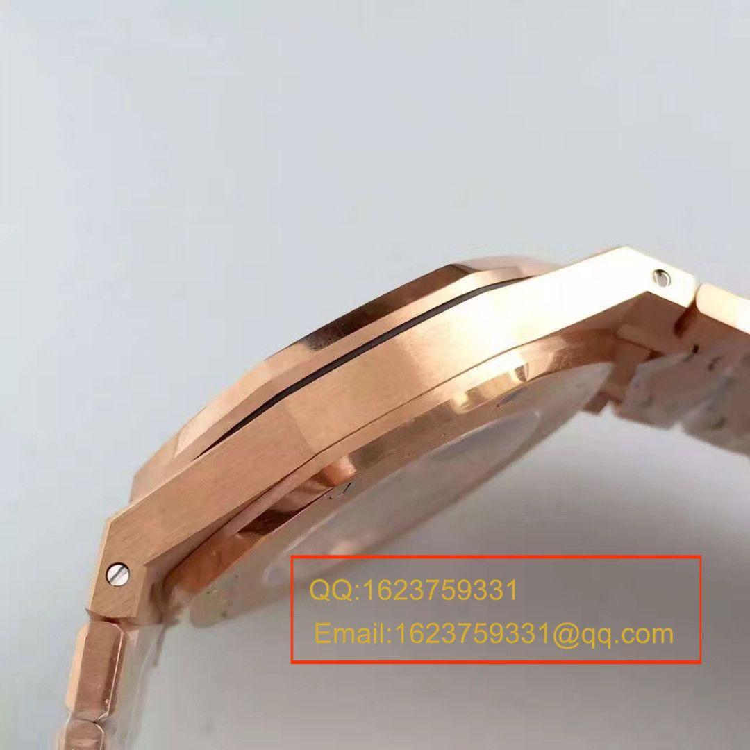 【JF厂超A高仿手表】爱彼皇家橡树系列15400OR.OO.1220OR.03腕表 / AP021