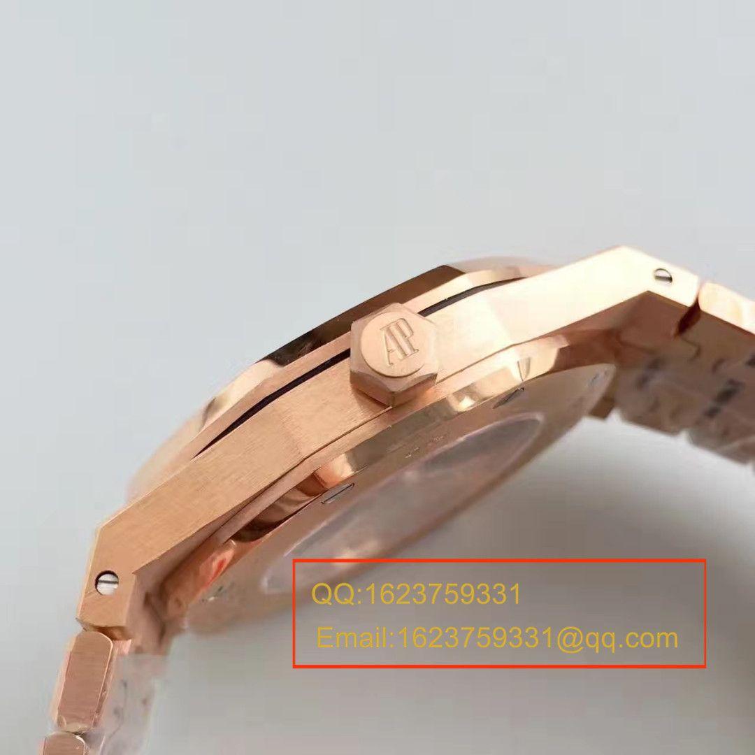 【JF厂超A高仿手表】爱彼皇家橡树系列15400OR.OO.1220OR.03腕表