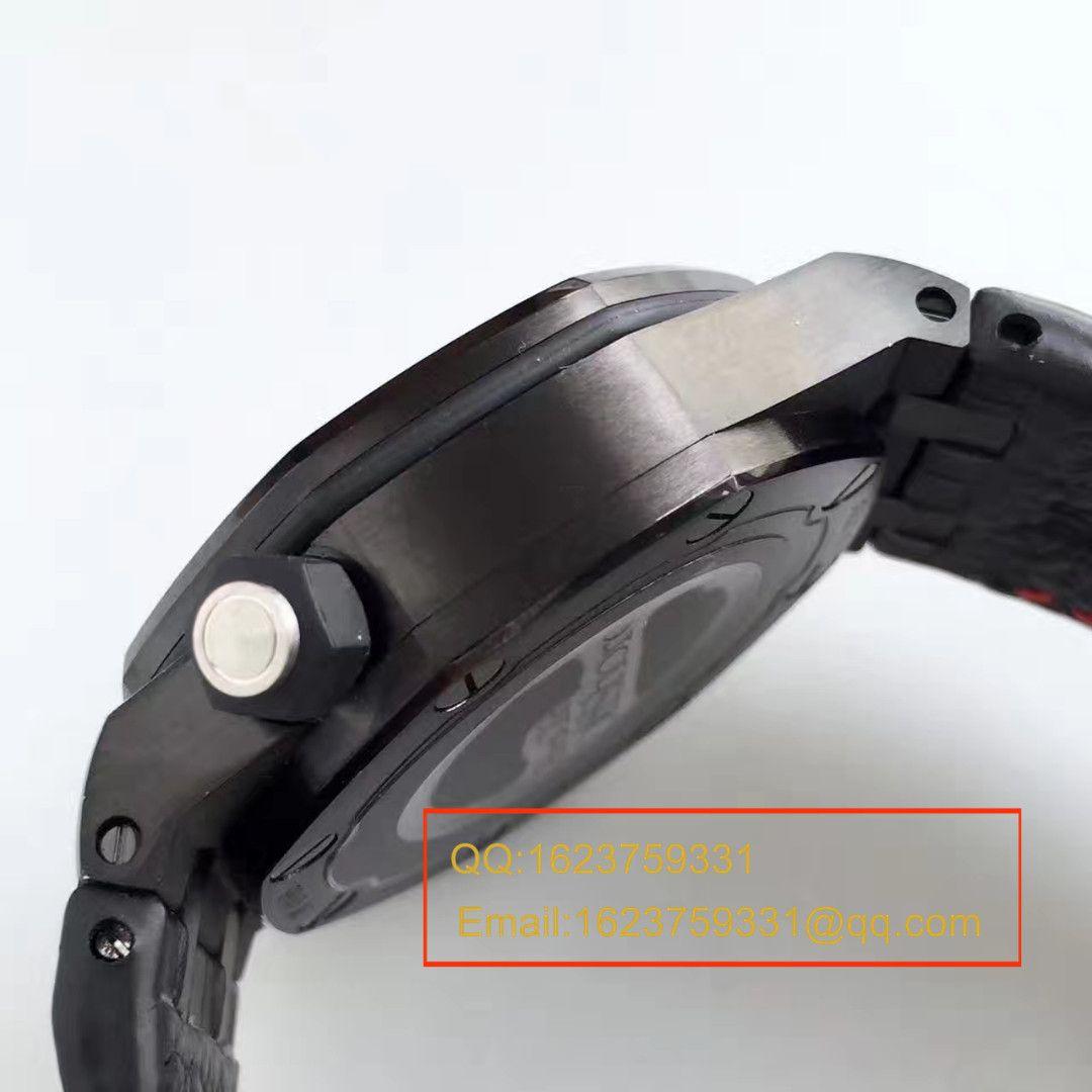 【JF厂一比一精仿手表】AP爱彼皇家橡树15703系列黑壳男表