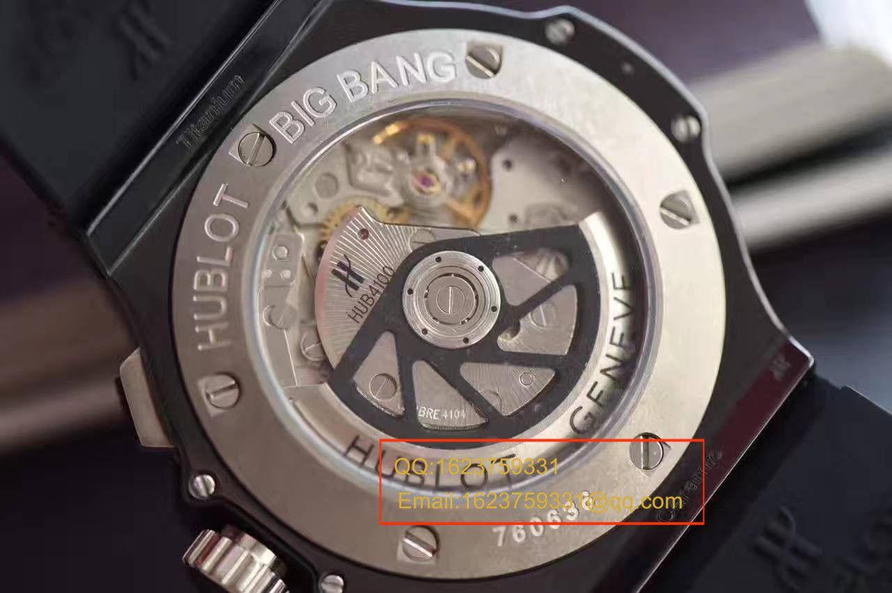 【V6厂一比一复刻手表】HUBLOT宇舶《恒宝》大爆炸BIG BANG系列301.CT.130.RX腕表 / YB034