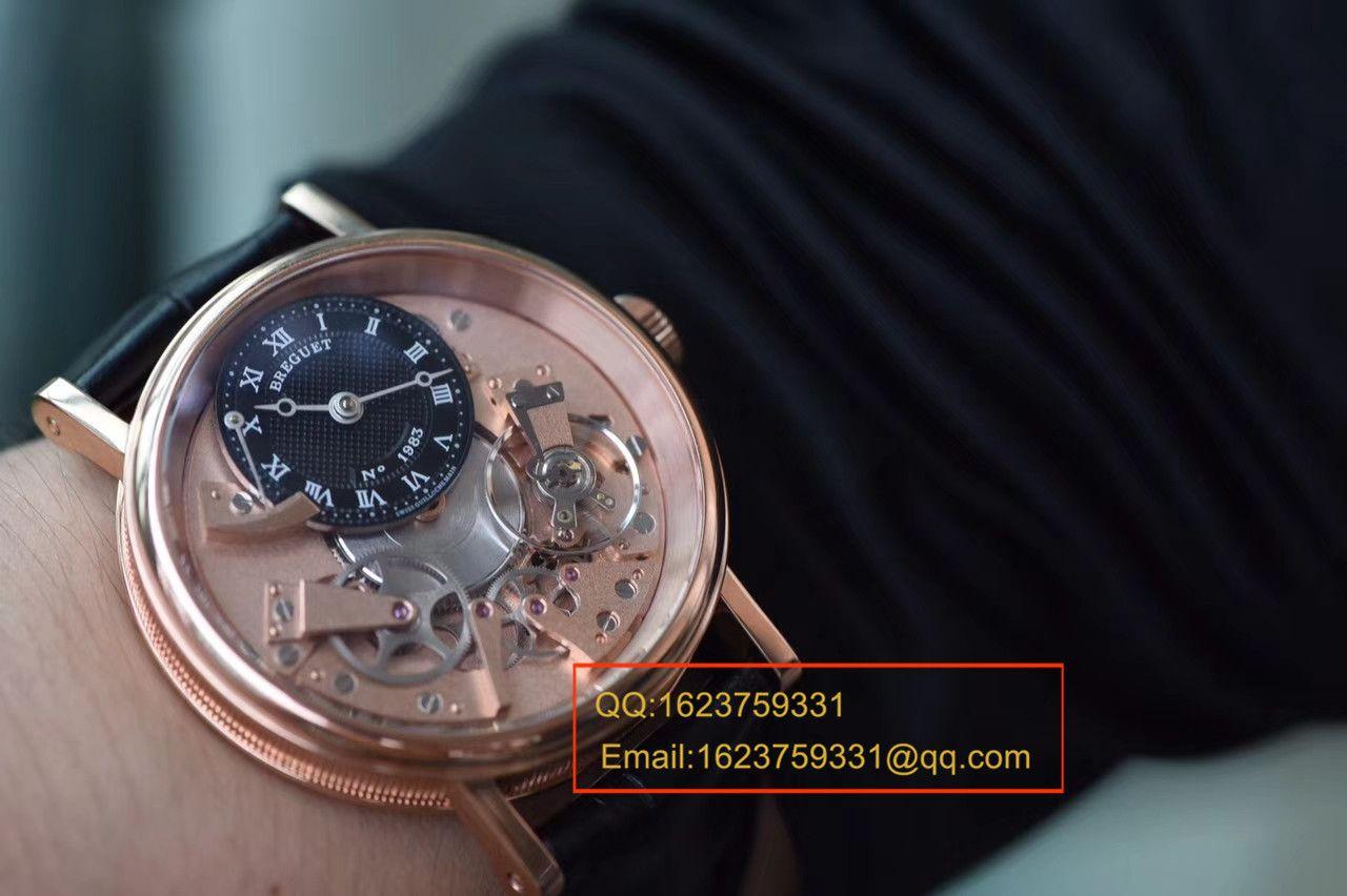 【SF一比一超A高仿手表】宝玑传世系列7057BR/R9/9W6腕表 / BZBG034