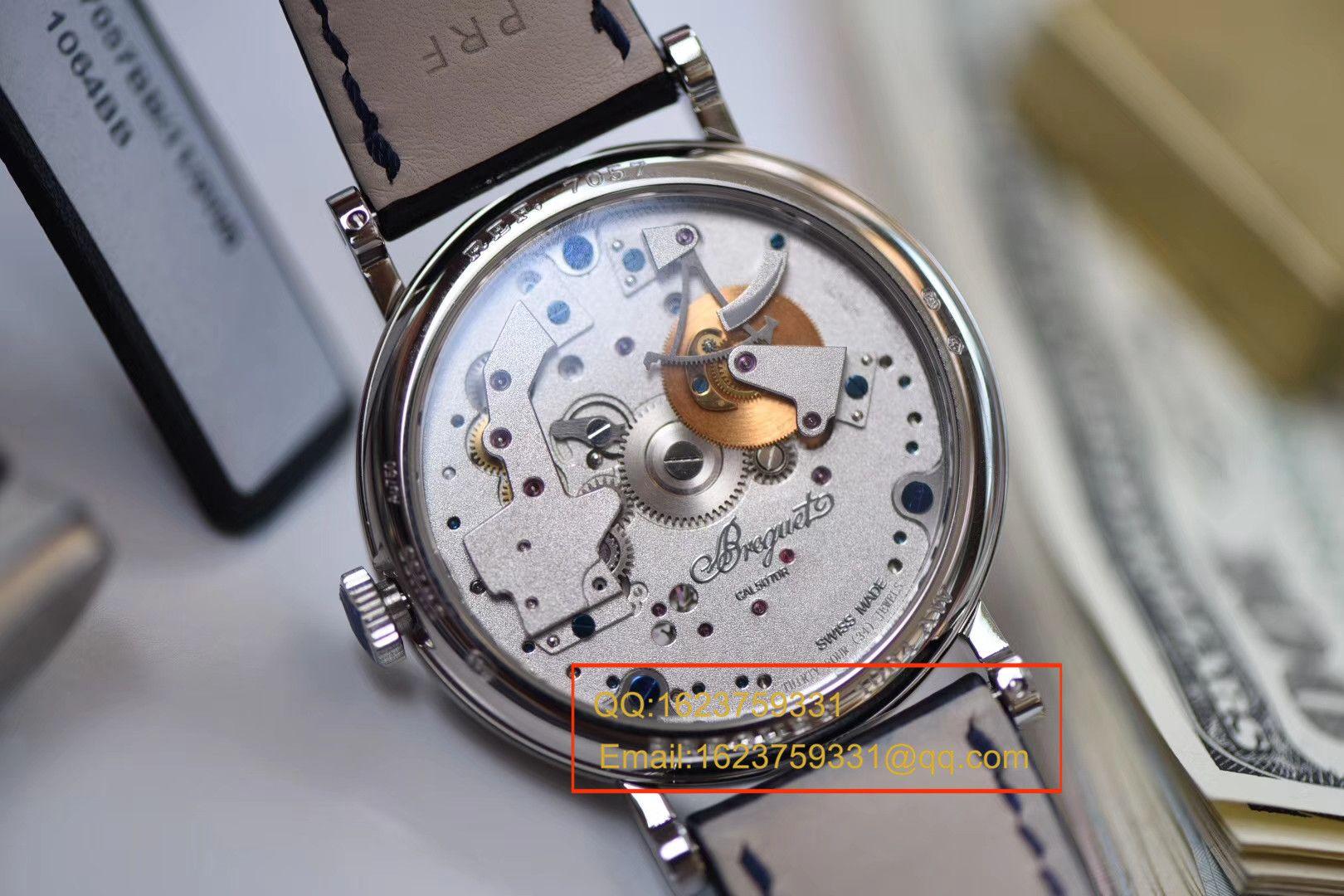 【独家视频评测SF一比一超A高仿手表】宝玑传世系列7057BB/11/9W6腕表 / BZBG007