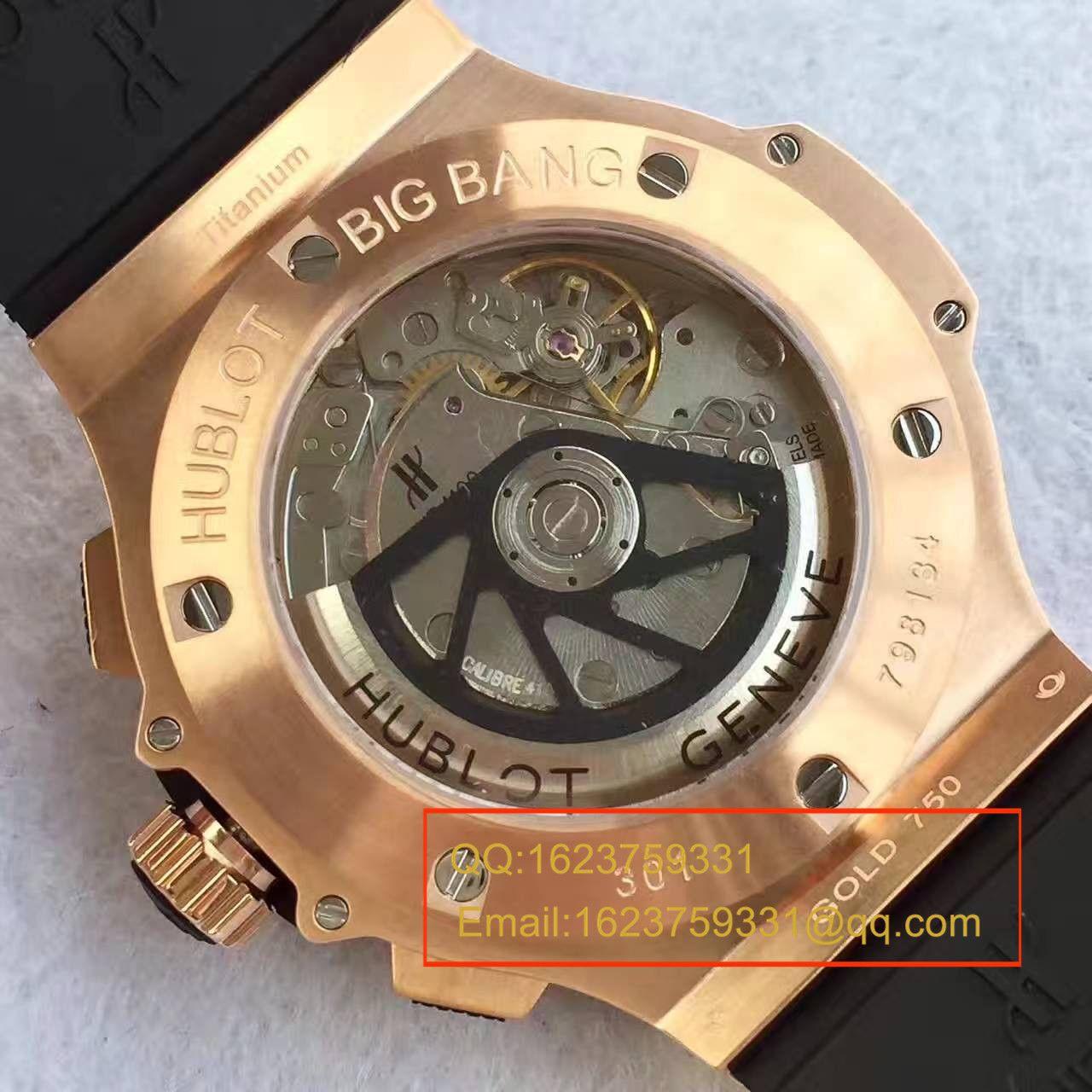 【V6厂一比一复刻手表】宇舶HUBLOT大爆炸系列301.PX.130.RX腕表 / YB030