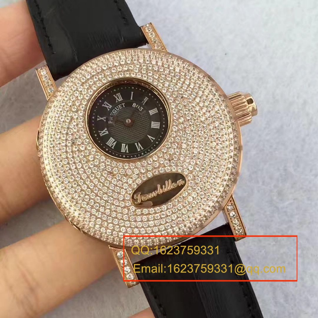 【TF一比一超A高仿手表】宝玑经典复杂系列1808BR/92/9W6 DD00真陀飞轮腕表
