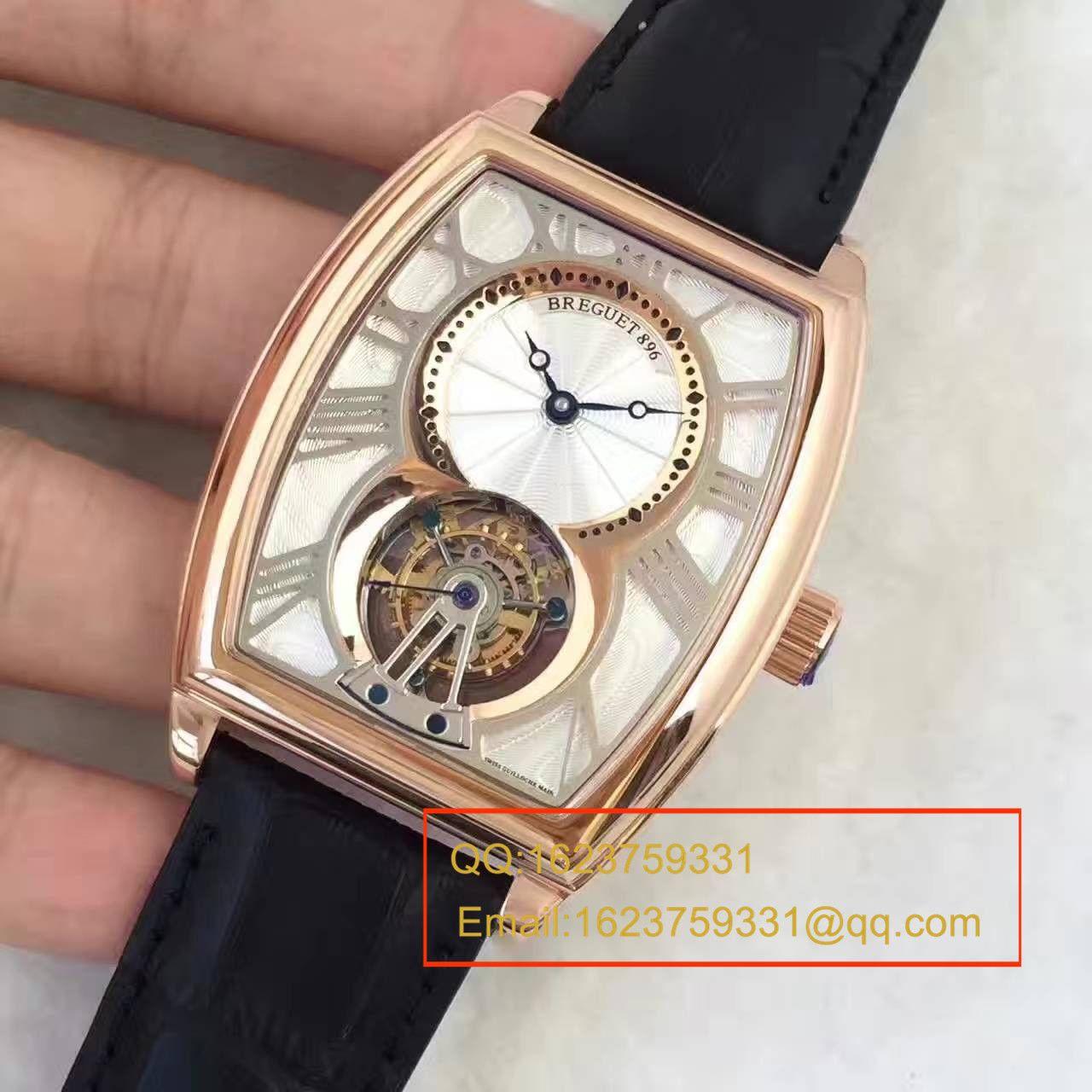 【BM厂级复刻手表】宝玑传承系列5497BR/12/9V6腕表真陀飞轮机械手表《玫瑰金款》 / BJ021