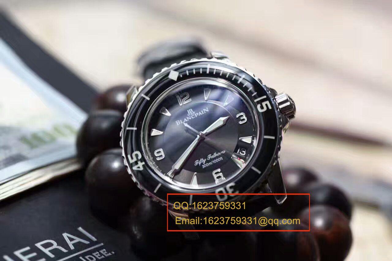 【N厂神器】宝珀blancpain 五十噚系列5015-1130-52 自动机械男士腕表 / BP003