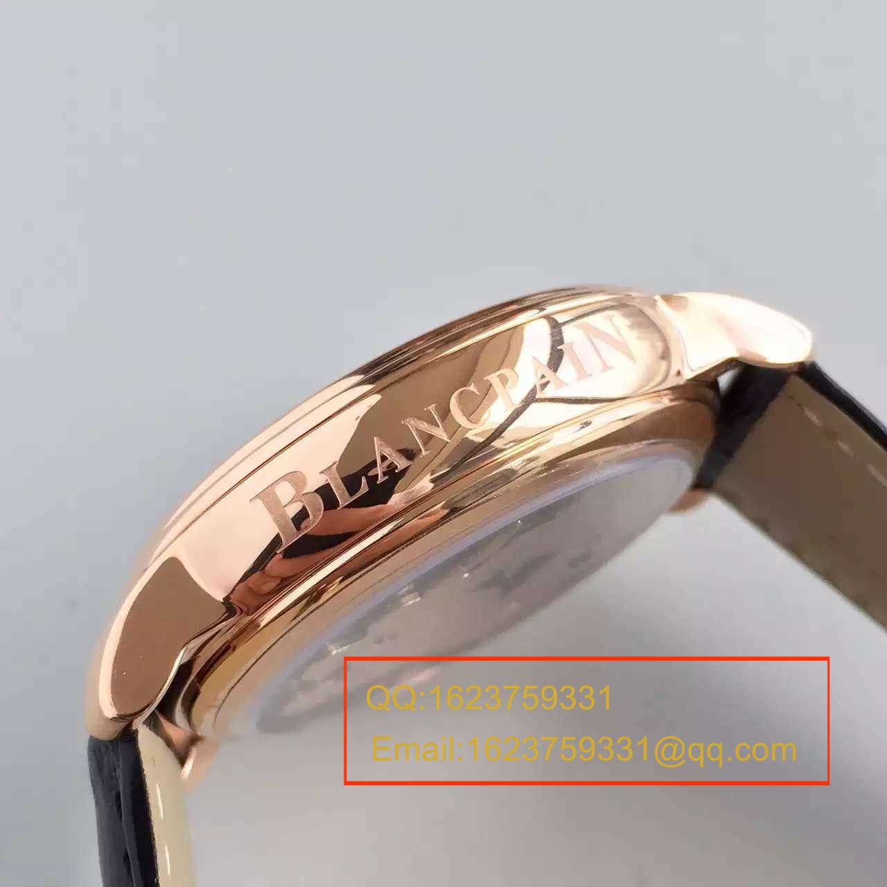【LH厂超A1:1精仿手表】宝珀巨匠系列布拉苏斯系列 春宫陀飞轮00232-3631-55B腕表