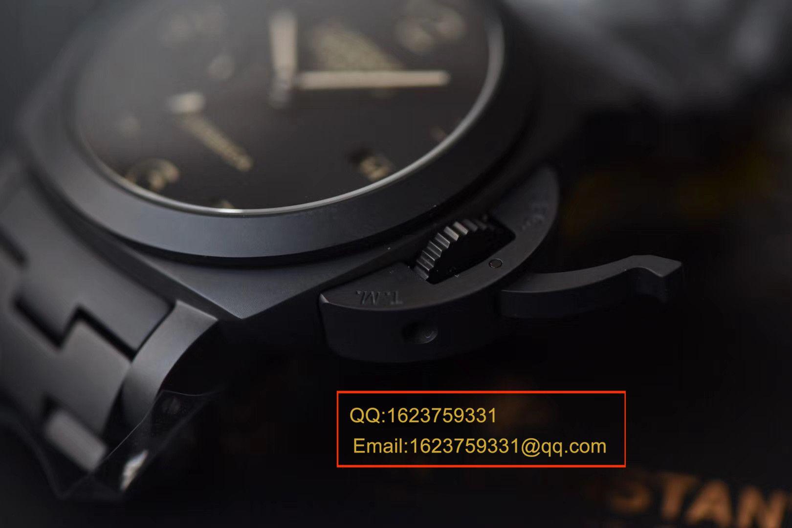 【视频评测VS厂顶级复刻手表】沛纳海LUMINOR 1950系列PAM00438全陶瓷腕表 / VSBFPAM00438