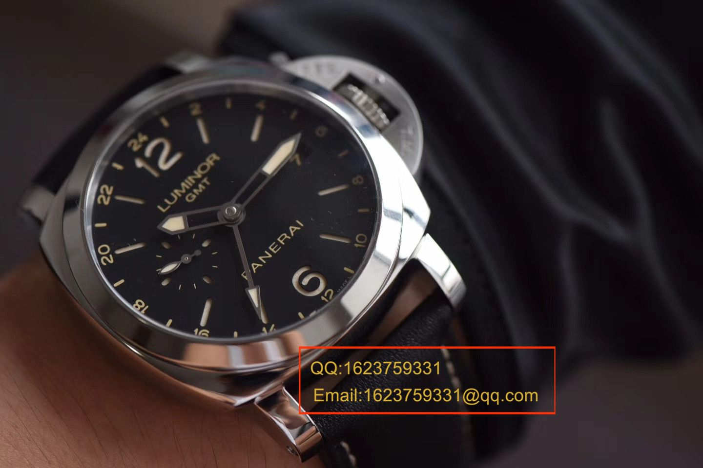 【VS一比一超A高仿手表】沛纳海LUMINOR 1950系列PAM00531 GMT 两地时区腕表 / PA056