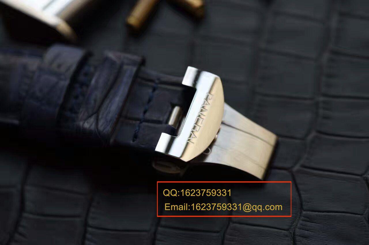 【视频解析】H厂1:1高仿手表之沛纳海PAM00224腕表《诱惑蓝面》 / PAM00224