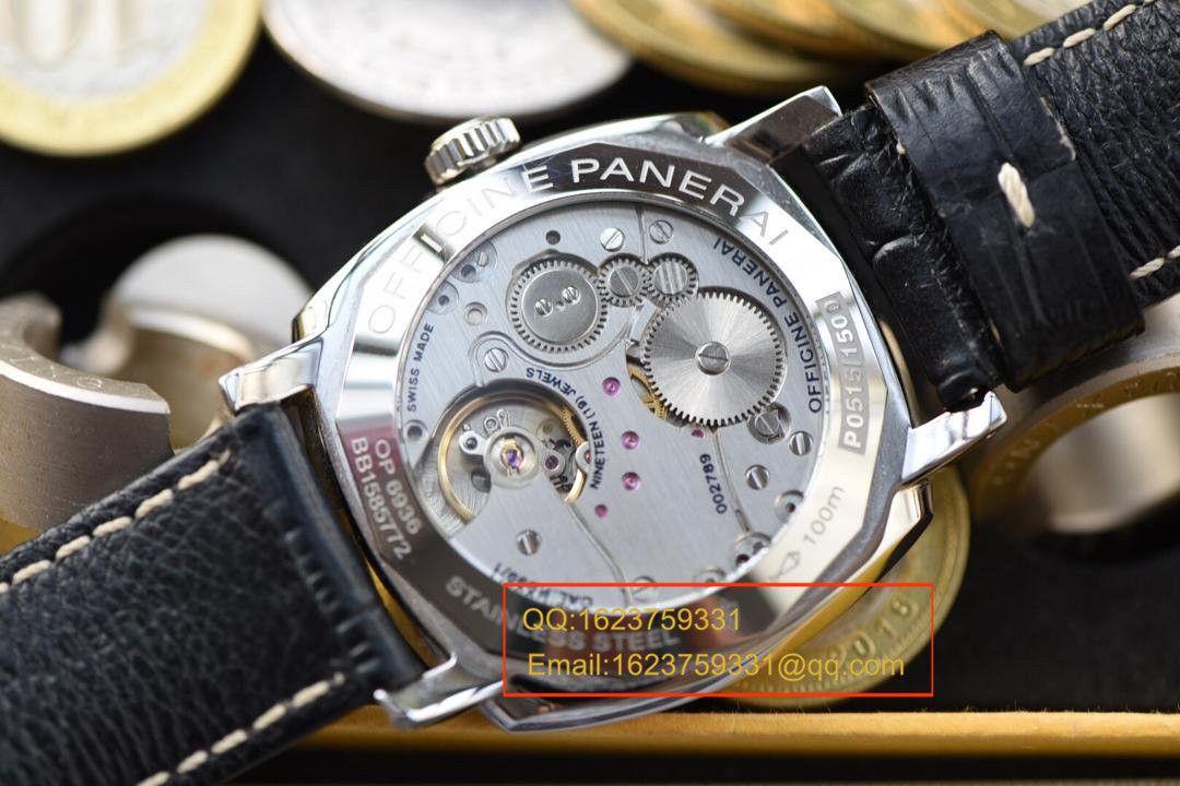 【视频评测KW厂顶级复刻手表】沛纳海RADIOMIR 1940系列PAM 00512腕表 / KWPAMAG00512
