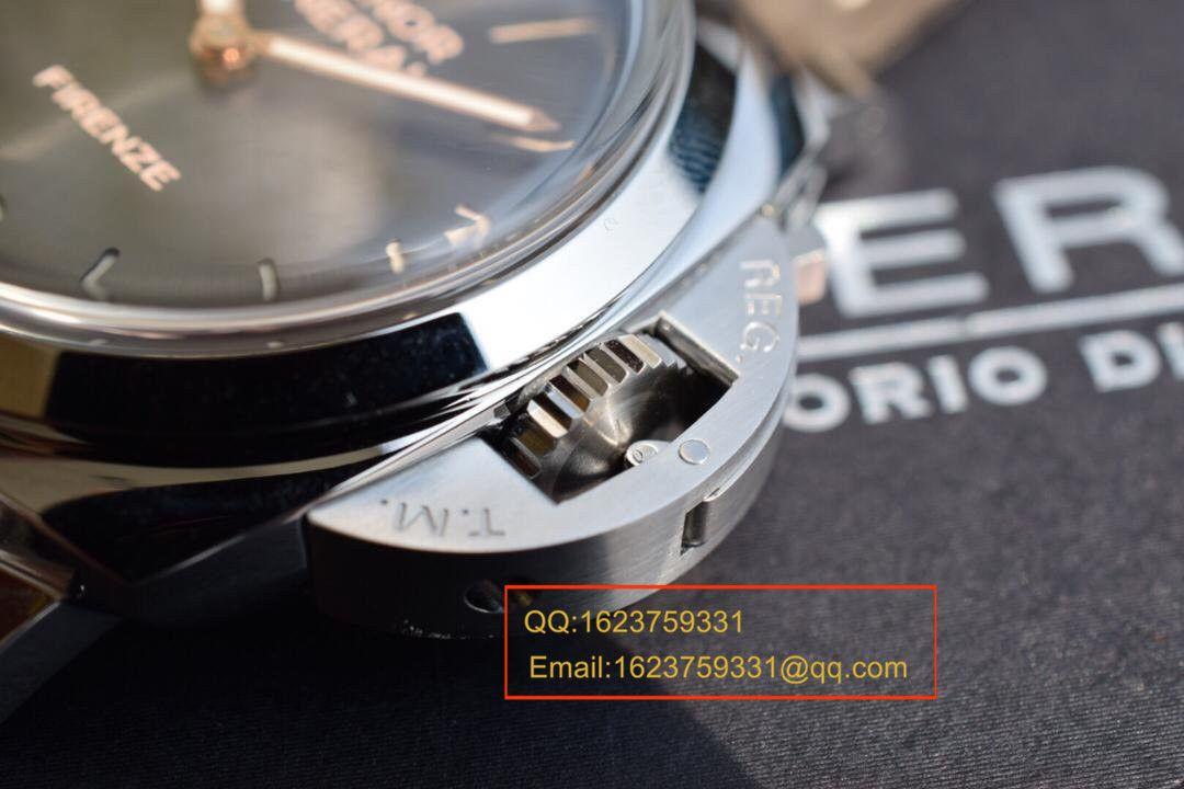 【实拍图鉴赏】SF厂超A精仿手表之沛纳海灰面PAM00605男表