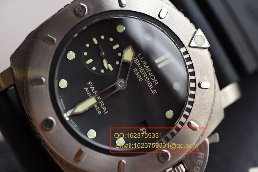 【视频评测NOOB厂一比一复刻手表】沛纳海限量珍藏款PAM00364《敢死队同款》 / PAM00364
