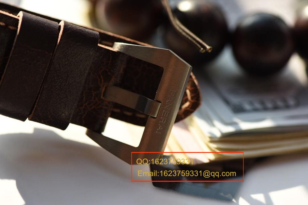 【实拍图鉴赏KW厂超A精仿手表】沛纳海LUMINOR系列PAM00564腕表 / PAMAD00564