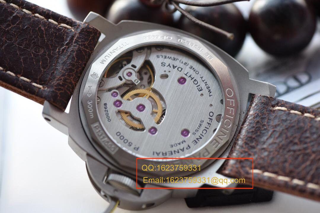 【实拍图鉴赏KW厂超A精仿手表】沛纳海LUMINOR系列PAM00564腕表