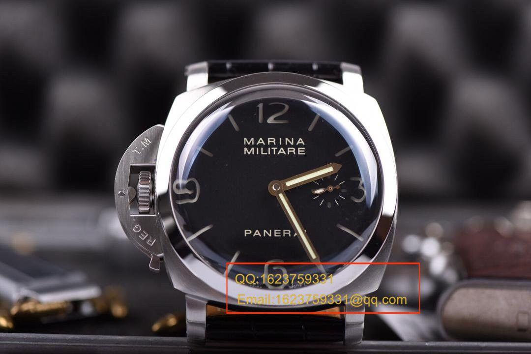 【视频评测KW超A1:1高仿手表】沛纳海Luminor限量珍藏系列《沛纳海左撇子》PAM00217 / KWPAMBD00217
