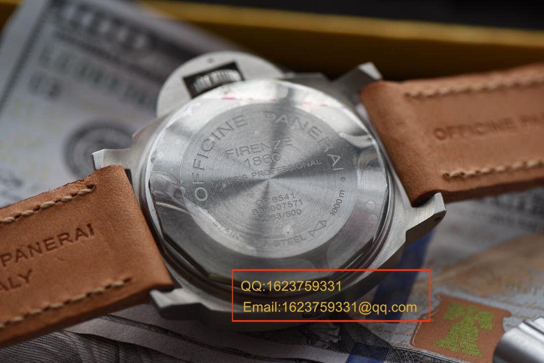 【视频评测H厂1:1超A精仿手表】沛纳海限量珍藏款系列PAM00064C腕表 / HPAMBC00064C