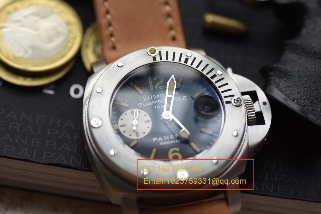 【视频评测H厂1:1超A精仿手表】沛纳海限量珍藏款系列PAM00064C腕表