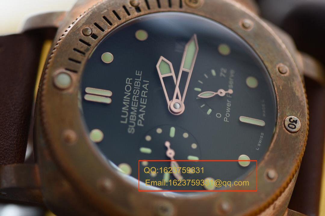 【视频评测KW厂1:1顶级复刻手表】沛纳海限量珍藏款系列PAM00507腕表《青铜神器》 / PAM00507