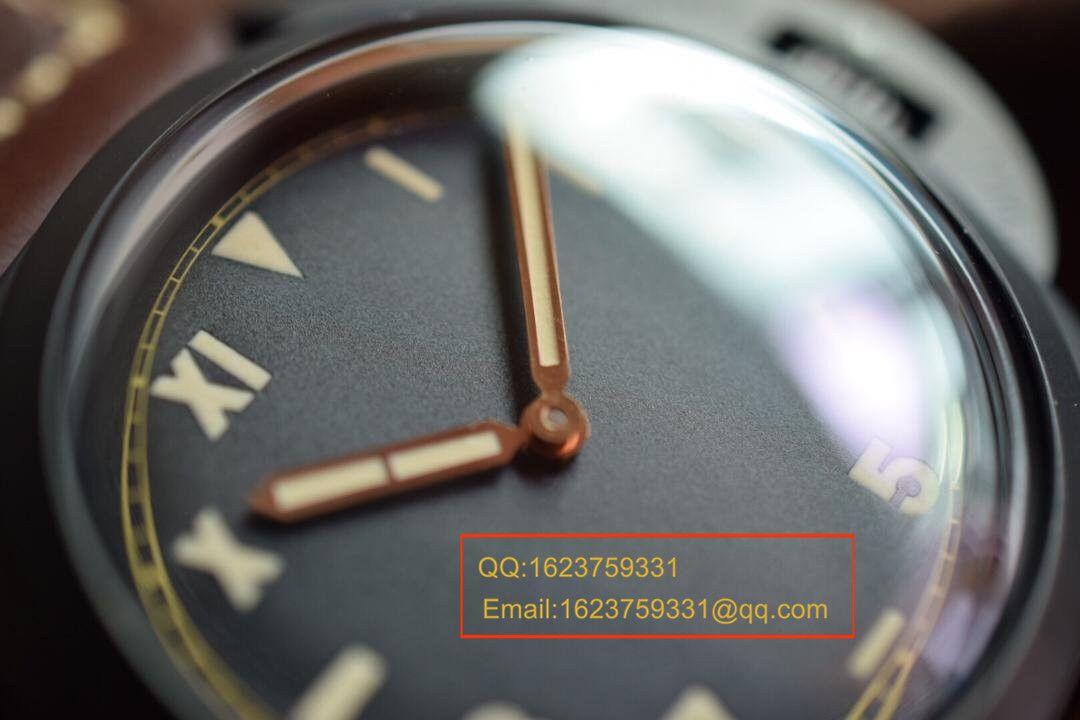 【视频评测KW厂超A高仿手表】沛纳海限量珍藏款系列泡泡镜 PAM00629腕表