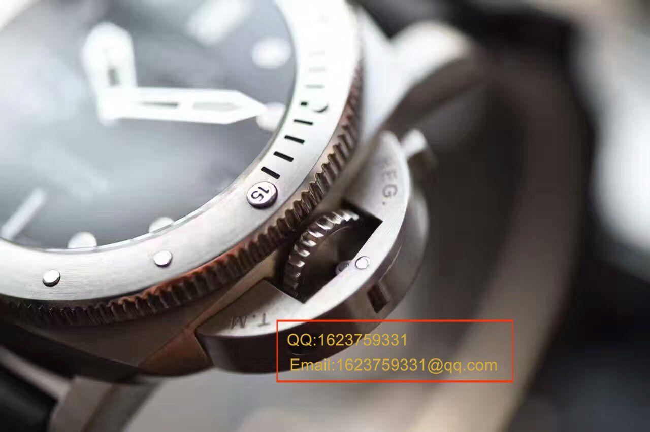 【视频解析XF厂顶级1:1高仿复刻手表】沛纳海LUMINOR 1950系列PAM00682手表 / XFPAMBB00682