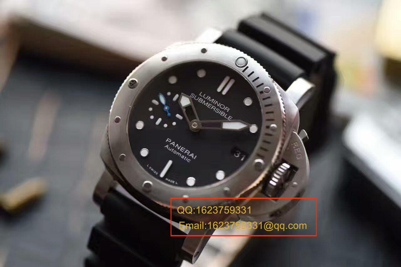 【视频解析XF厂顶级1:1高仿复刻手表】沛纳海LUMINOR 1950系列PAM00682手表