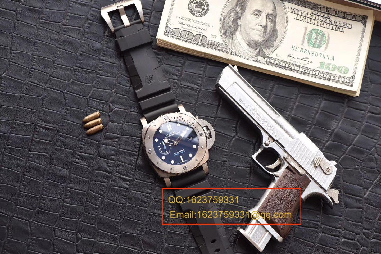 【视频评测XF一比一超A高仿手表】沛纳海LUMINOR 1950系列PAM00692腕表 / XFPAM00692