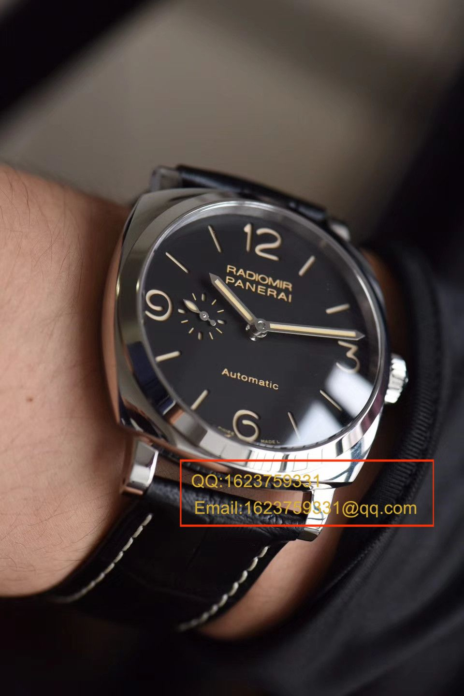 【视频评测SF厂1:1顶级复刻手表】沛纳海LUMINOR 1950系列珍珠陀PAM00572男表 / SFPAMBF00572