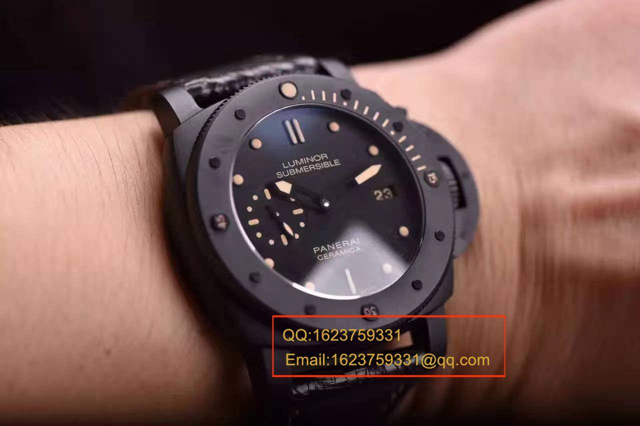 【视频评测】KW厂顶级复刻1:1高仿手表之顶级沛纳海全陶瓷精品PAM00508 / PAM00508