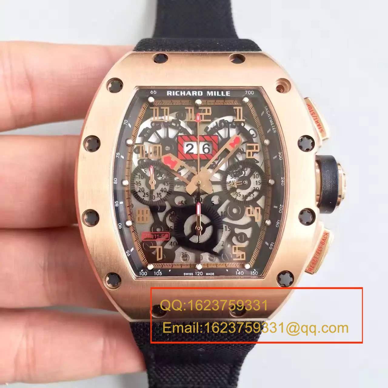 【RM一比一超A精仿手表】理查德.米勒男士系列RM 011 FLYBACK CHRONOGRAPH腕表 / RM 011 FLYBACK