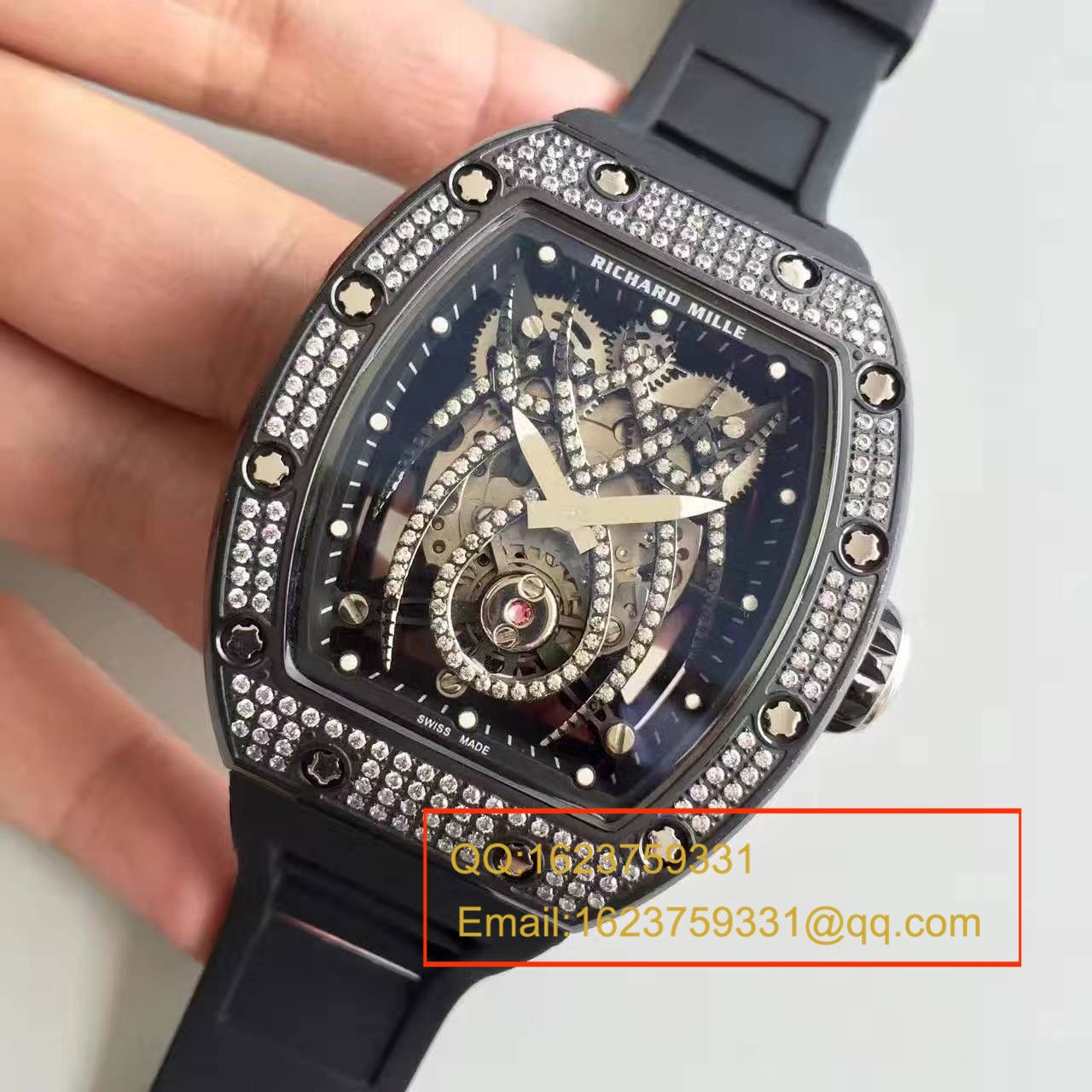 【KV一比一超A精仿手表】理查德·米勒 女士系列RM 19-01 TOURBILLON NATALIE PORTMAN腕表 / RM 19-01