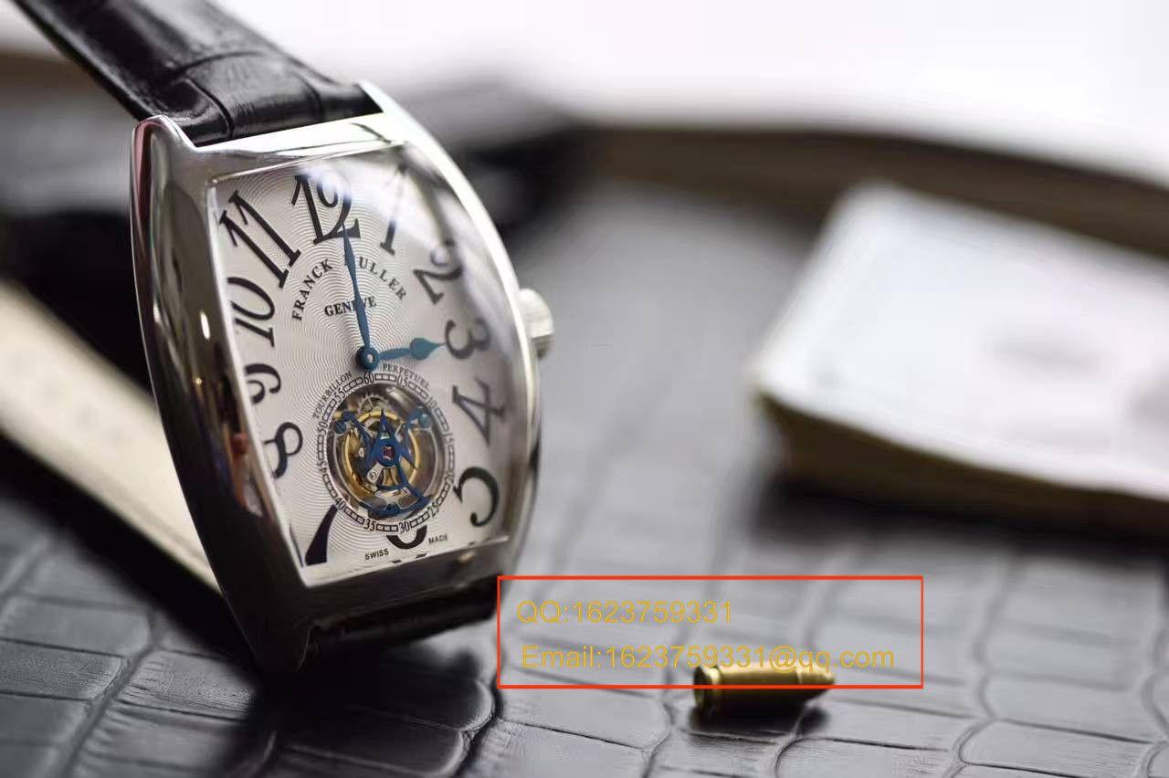 【LH厂顶级复刻手表】法兰克.穆勒GRAND COMPLICATIONS系列8888 T陀飞轮腕表 / FL016