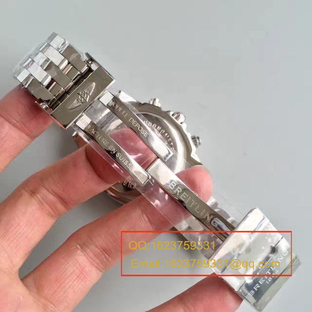 【JF厂一比一精仿手表】百年灵机械计时系列AB011011/C788(Pilot飞行员精钢表链)腕表 / BLBB002.1