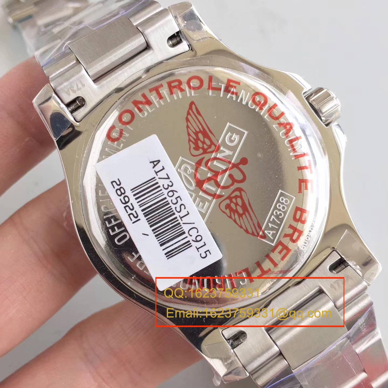 【GF一比一超A精仿手表】百年灵挑战者系列A1738811/C906/211S/A20D.2腕表